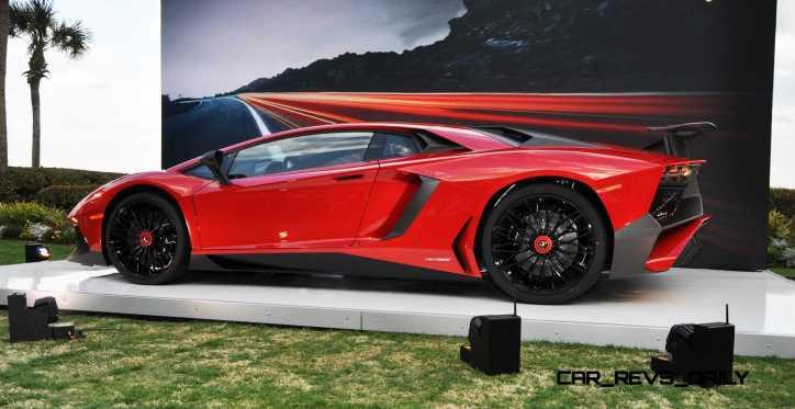 2015 Lamborghini Aventador SV USA Reveal 26