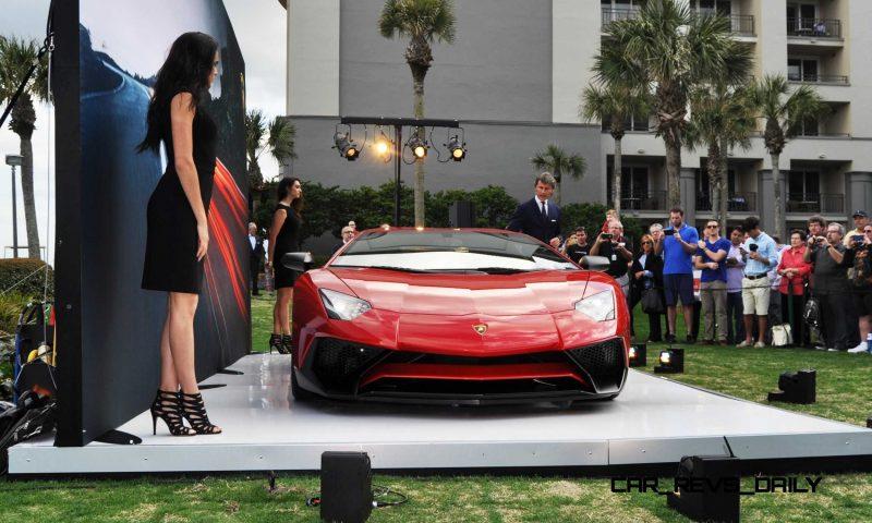 2015 Lamborghini Aventador SV USA Reveal 6