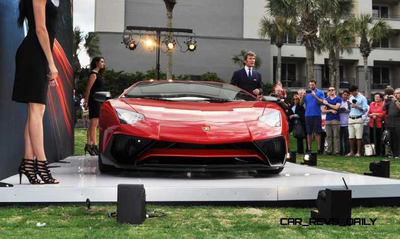 2015 Lamborghini Aventador SV USA Reveal 7