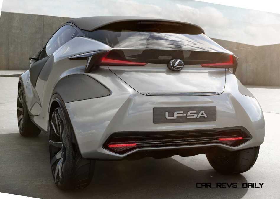 2015 Lexus LF-SA Concept 15