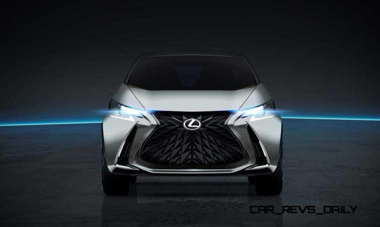 2015 Lexus LF-SA Concept 2