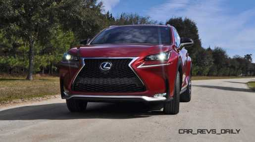 2015 Lexus NX200t F Sport Review 11