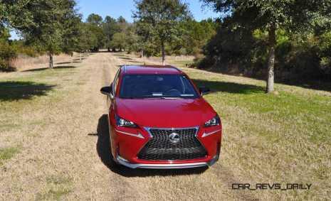 2015 Lexus NX200t F Sport Review 127