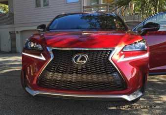 2015 Lexus NX200t F Sport Review 144