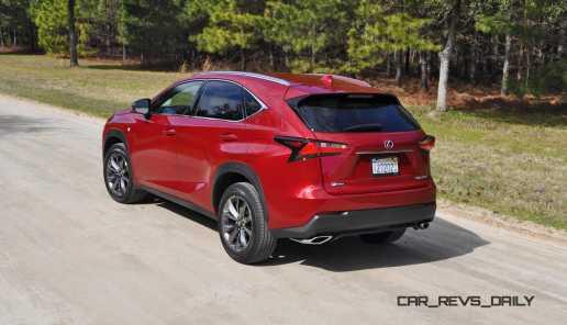 2015 Lexus NX200t F Sport Review 29