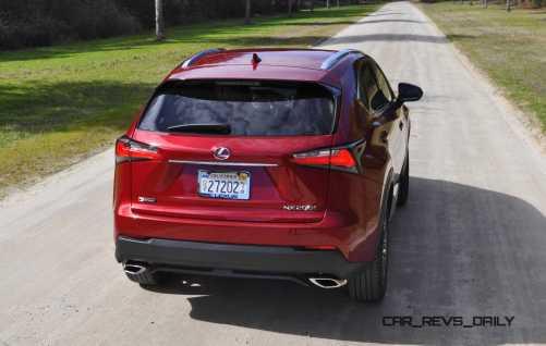 2015 Lexus NX200t F Sport Review 37