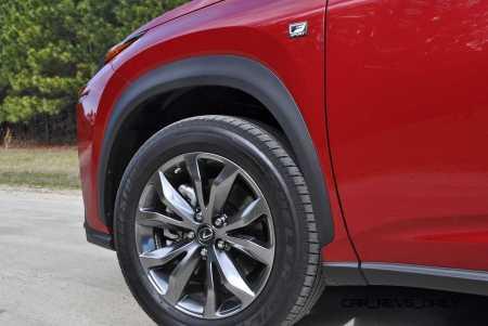 2015 Lexus NX200t F Sport Review 50