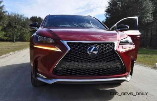 2015 Lexus NX200t F Sport Review 73