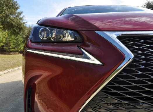 2015 Lexus NX200t F Sport Review 75