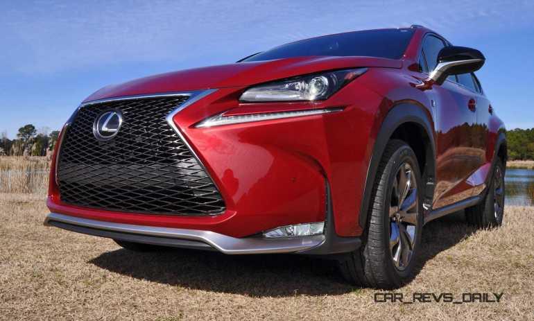 2015 Lexus NX200t F Sport Review 92