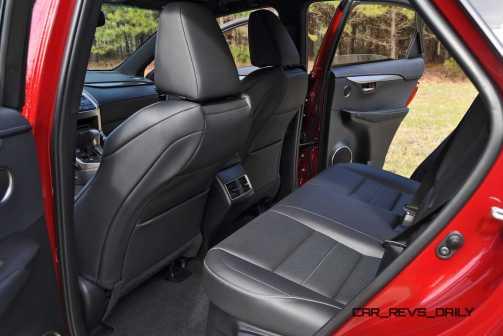 2015 Lexus NX200t Interior 22
