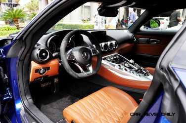2015 Mercedes-AMG GT-S Red Blue Amelia Island 124