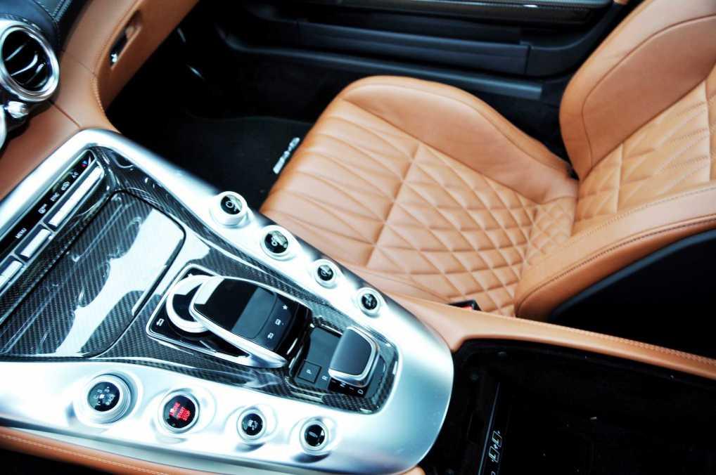 2015 Mercedes-AMG GT-S Red Blue Amelia Island 136