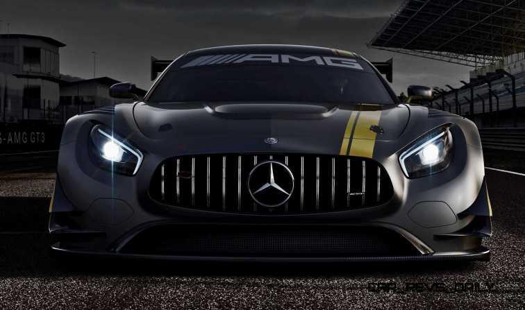Rennwagen Mercedes-AMG GT3 Genf 2014; Racecar Mercedes-AMG GT3 G