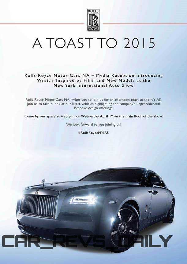 2015 Rolls-Royce WRAITH Inspired by Film Special Edition 3