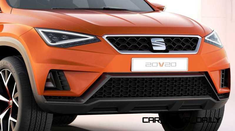 2015 SEAT 20V20 Concept SUV 3