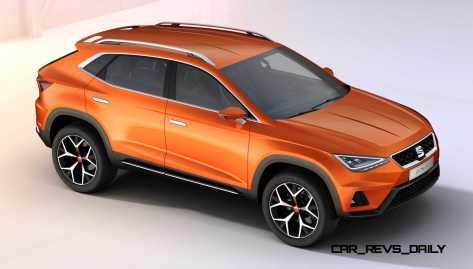 2015 SEAT 20V20 Concept SUV 8