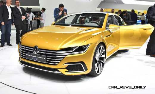 2015 Volkswagen Sport Coupe Concept GTE 2