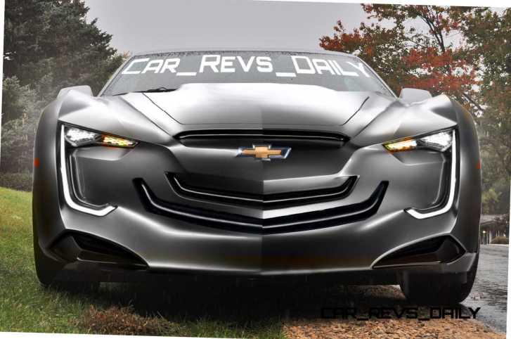 2016 Chevrolet Camaro RENDERING 1