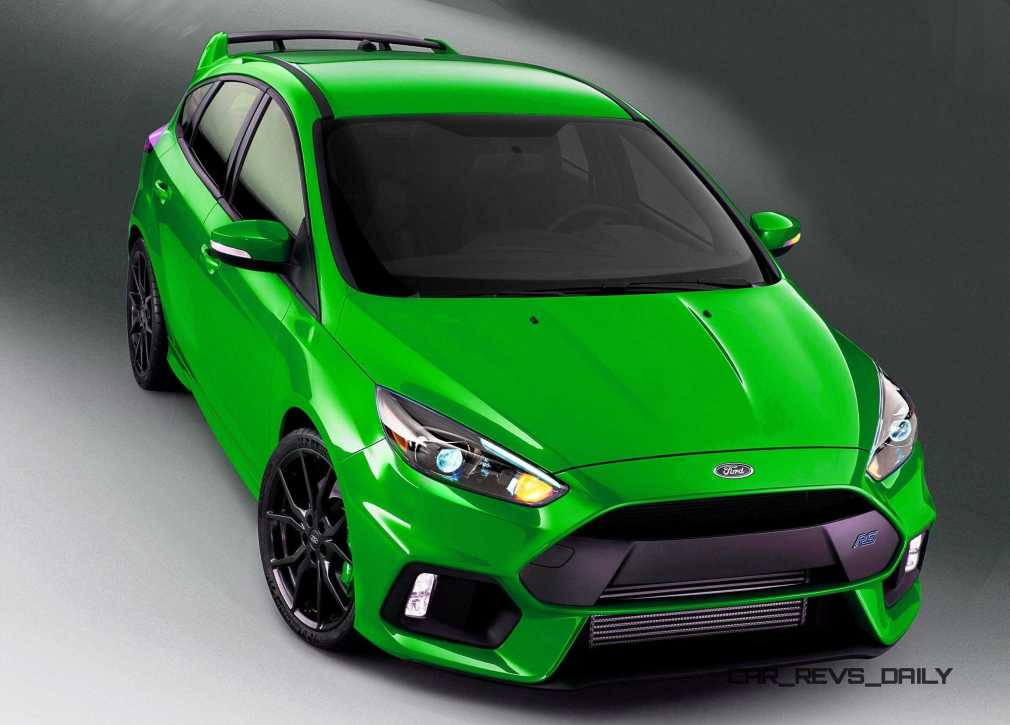 2016 Ford Focus RS - Digital Colorizer 11