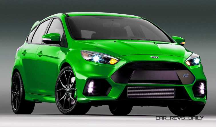 2016 Ford Focus RS - Digital Colorizer 34