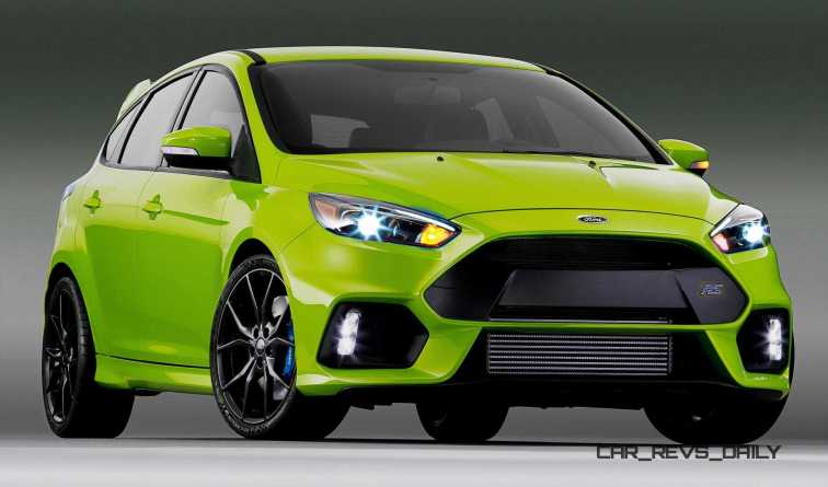 2016 Ford Focus RS - Digital Colorizer 35