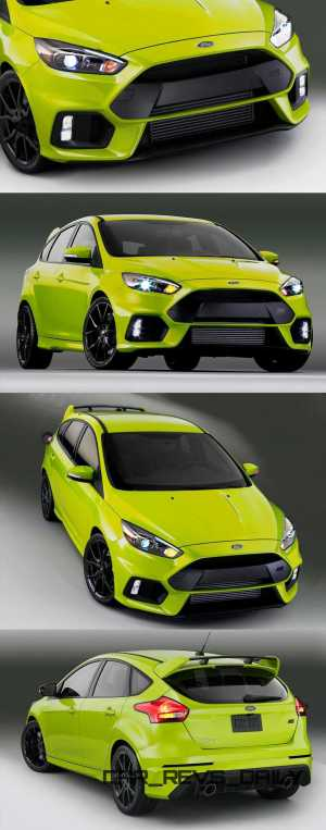 2016 Ford Focus RS Digital Colorizer 7