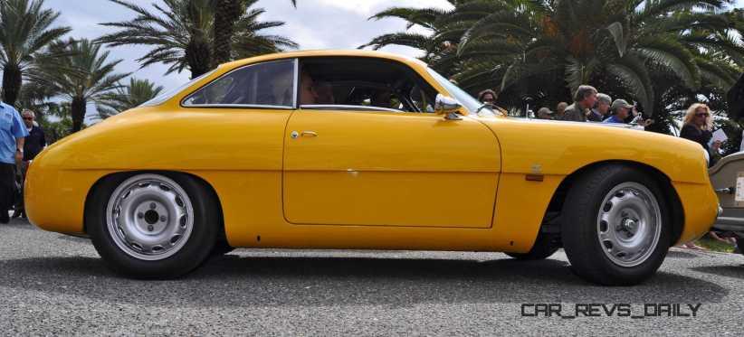 Amelia 2015 Highlights - 1962 Alfa Romeo Giulietta SZ 21