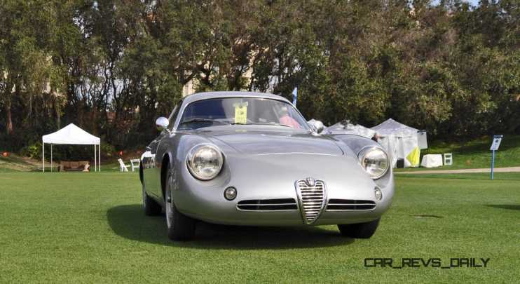 Amelia 2015 Highlights - 1962 Alfa Romeo Giulietta SZ 30