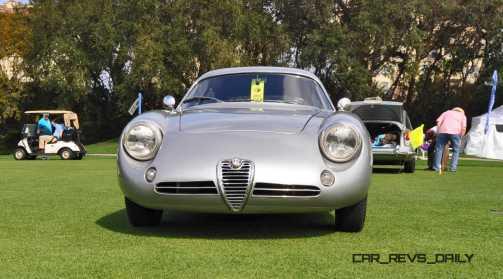 Amelia 2015 Highlights - 1962 Alfa Romeo Giulietta SZ 33