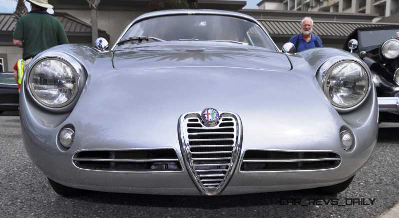 Amelia 2015 Highlights - 1962 Alfa Romeo Giulietta SZ 6