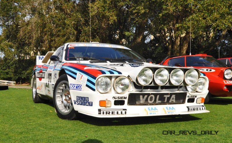 Amelia Island 2015 - 1983 Lancia 037 14