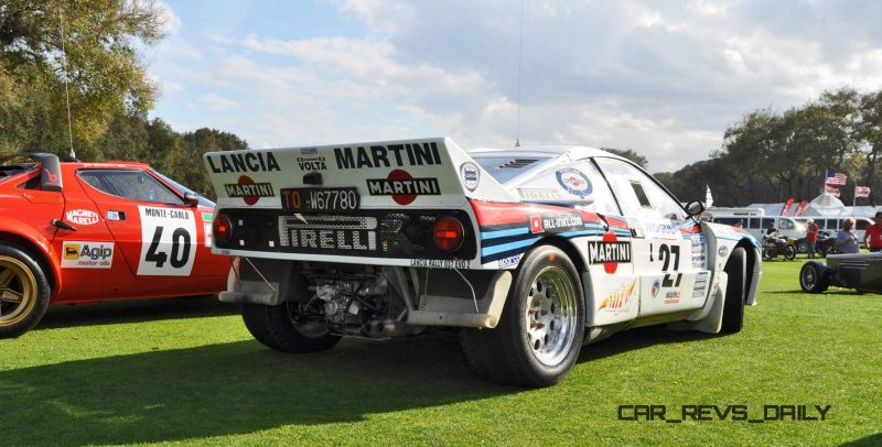 Amelia Island 2015 - 1983 Lancia 037 17