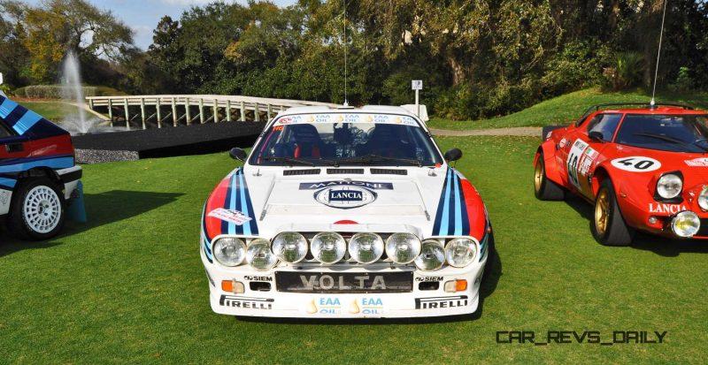 Amelia Island 2015 - 1983 Lancia 037 9