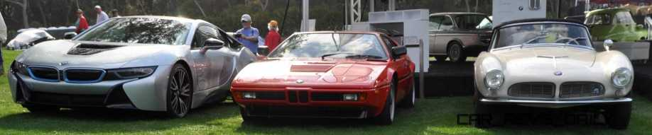 Amelia Island 2015 - BMW Brings 507, M1, CSL and tii To Join 2015 X5 M and 2015 650i M Sport 47