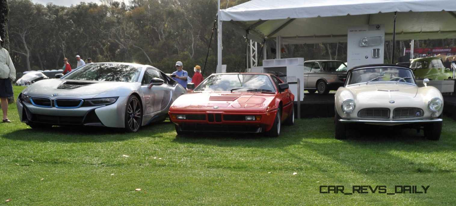 Amelia Island 2015 - BMW Brings 507, M1, CSL and tii To Join 2015 X5 M and 2015 650i M Sport 48