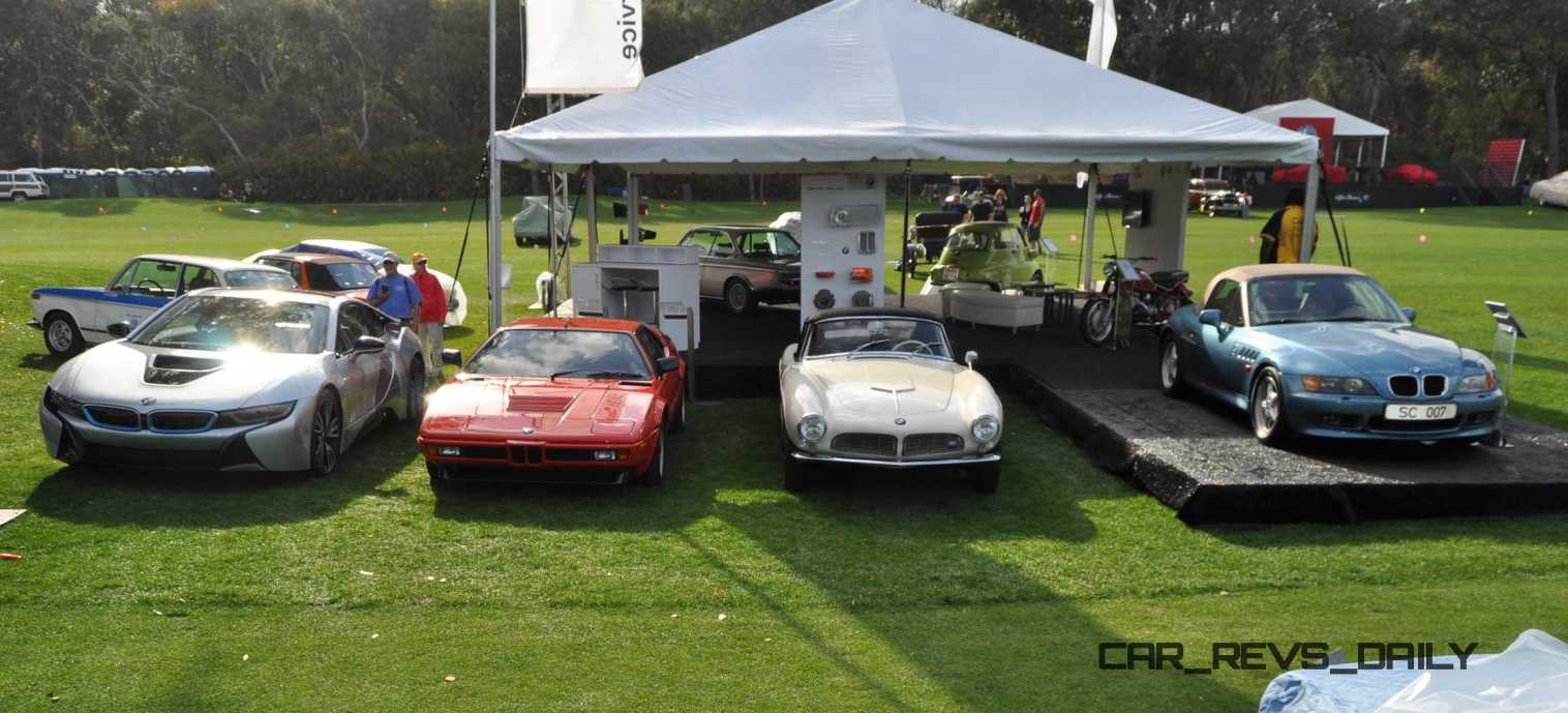 Amelia Island 2015 - BMW Brings 507, M1, CSL and tii To Join 2015 X5 M and 2015 650i M Sport 49