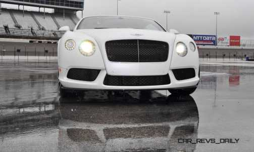 First Drive Review - 2015 Bentley Continental GT V8S - White Satin 20