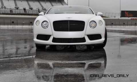 First Drive Review - 2015 Bentley Continental GT V8S - White Satin 28