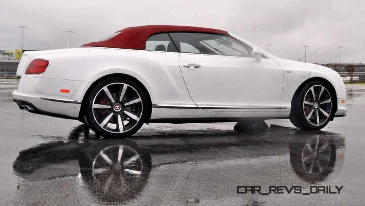 First Drive Review - 2015 Bentley Continental GT V8S - White Satin 41