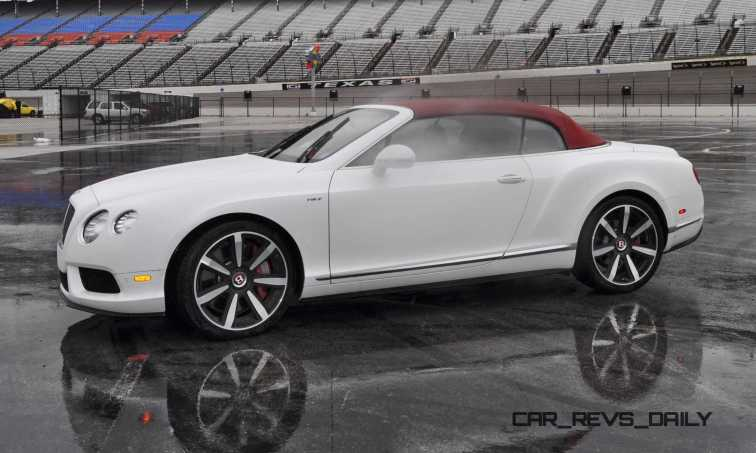 First Drive Review - 2015 Bentley Continental GT V8S - White Satin 59