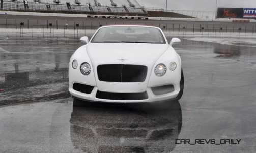 First Drive Review - 2015 Bentley Continental GT V8S - White Satin 66