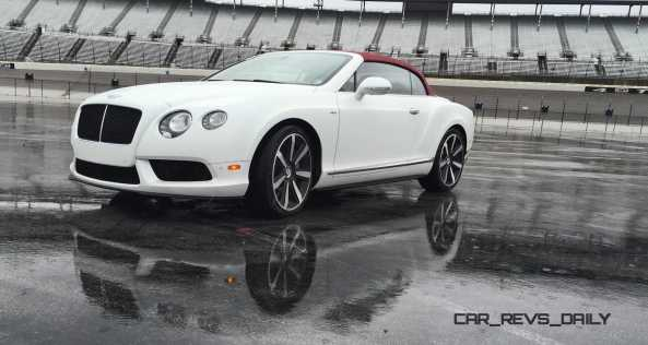 First Drive Review - 2015 Bentley Continental GT V8S - White Satin 8