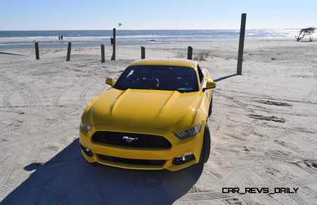 HD Road Test Review - 2015 Ford Mustang EcoBoost in Triple Yellow with Performance Pack 96