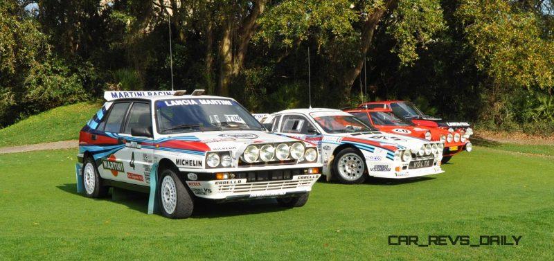 LANCIA Rally Reunion - Stratos, Integrale, Fulvia and 037 Together for Amelia 2015 28
