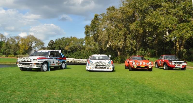 LANCIA Rally Reunion - Stratos, Integrale, Fulvia and 037 Together for Amelia 2015 3