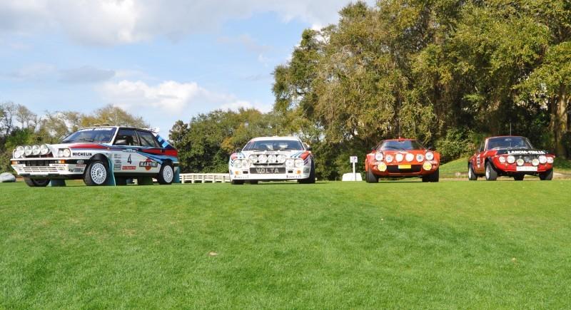 LANCIA Rally Reunion - Stratos, Integrale, Fulvia and 037 Together for Amelia 2015 38