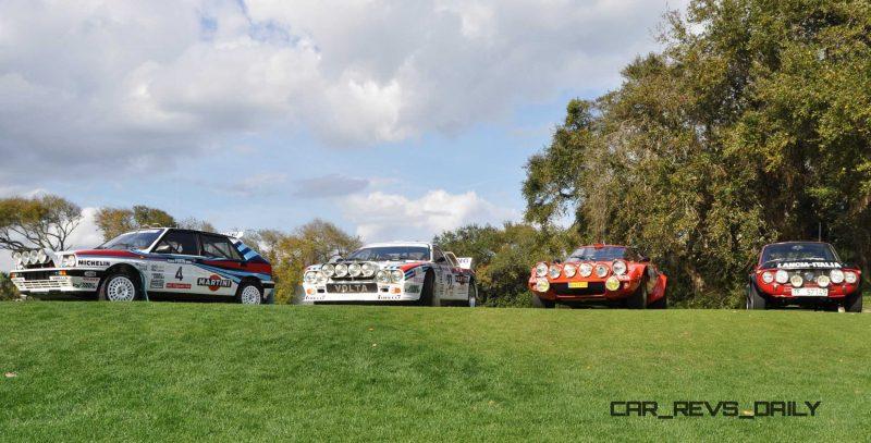 LANCIA Rally Reunion - Stratos, Integrale, Fulvia and 037 Together for Amelia 2015 40