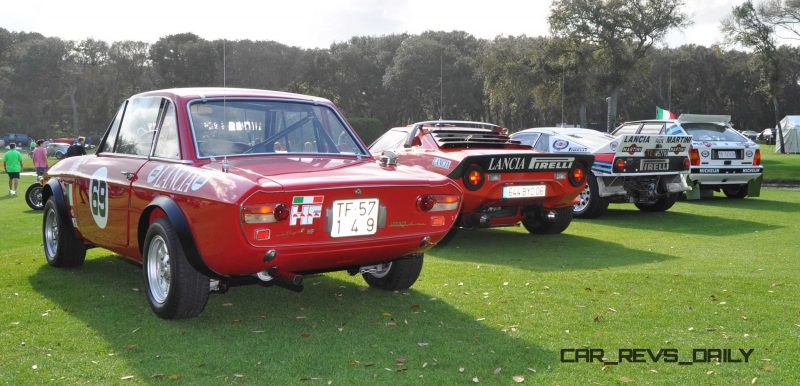 LANCIA Rally Reunion - Stratos, Integrale, Fulvia and 037 Together for Amelia 2015 43