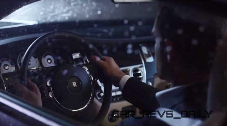 Rolls-Royce WRAITH 'And The World Stood Still' Film Stills 17